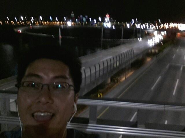광진교 야밤산책-튼튼곰돌이