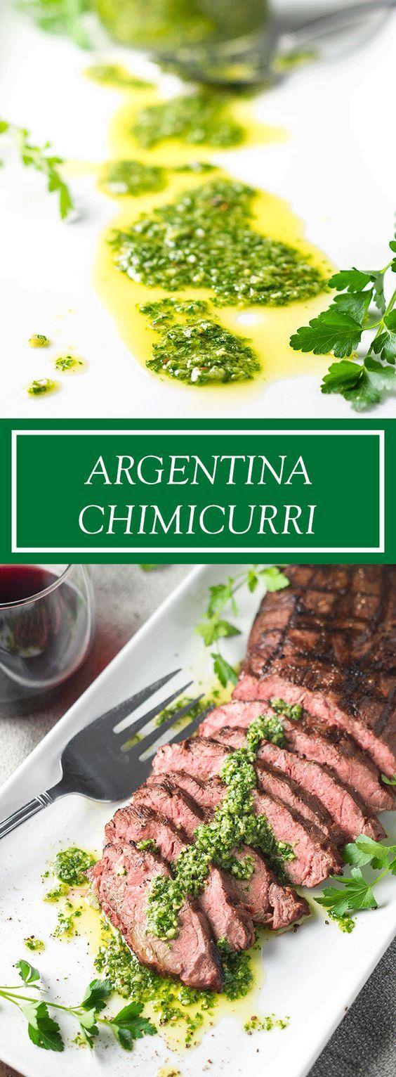 Best 25 easy argentina ideas on pinterest chimichurri chimichurri chimichurri sauce recipeargentinafood forumfinder Gallery
