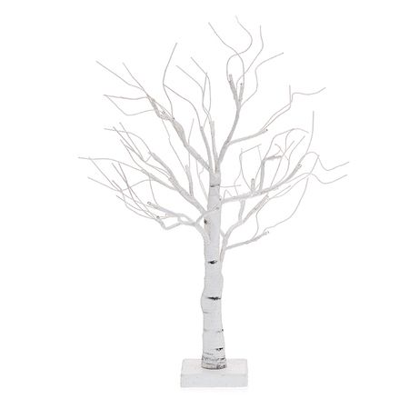 Twiggy White Birch Poseable Leafless Tree Small