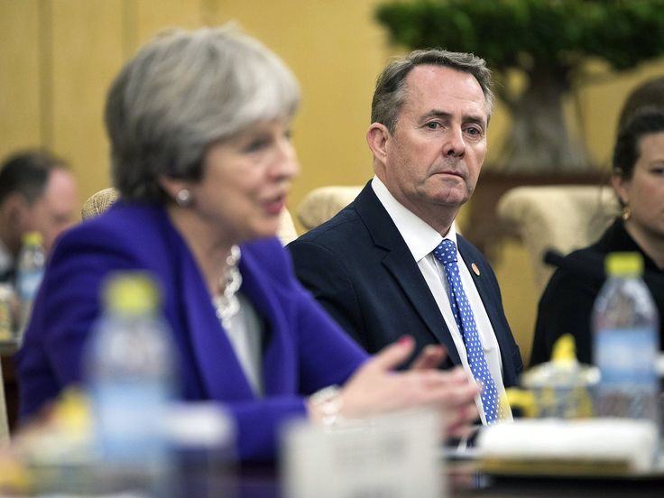 """International Trade Secretary Liam Fox has said Britain will """"have to be"""" outside of any customs union with the European Union after Brexit. The Cabinet minister said it would be necessary for the UK in order to take advantage of global markets, but his words go further than Theresa May's in an interview on the same morning."""