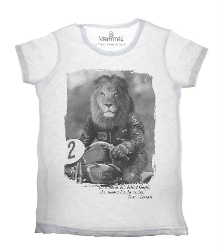 T-shirt retro leone  Available on www.manymaltshirt...