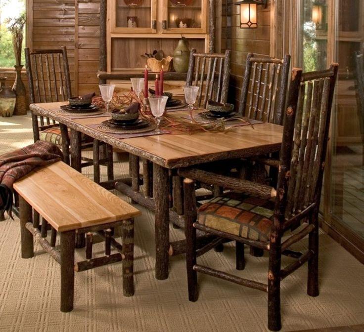 Log Home Furniture  -