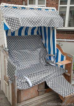 Einen Strandkorb neu beziehen - Handmade Kultur
