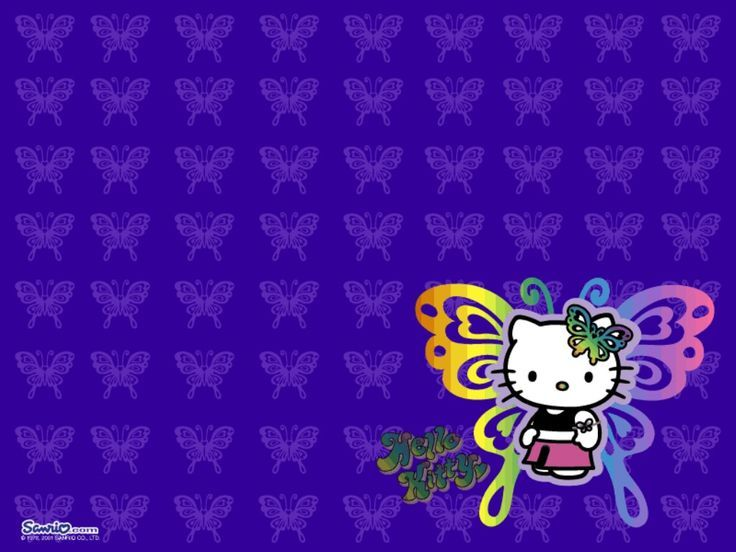 Purple Hello Kitty Wallpapers Hd For Desktop Wallpaper 1024 x 768 px 236.31 KB c