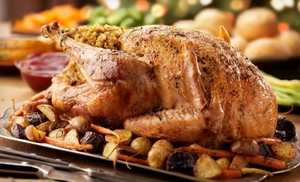 Groupon - All-Natural Whole Turkey or a Standard, Premium, or Deluxe Thanksgiving Turkey Package (Up to 57% Off). Free Shipping. in Online Deal. Groupon deal price: $39.00