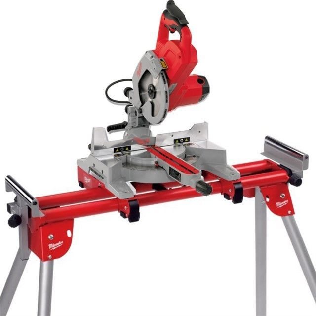 milwaukee m18 sms216 m18sms216 18v cordless mitre saw bare unit msl1000 stand