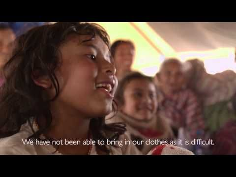Children share about surviving the Nepal earthquake | World Vision International