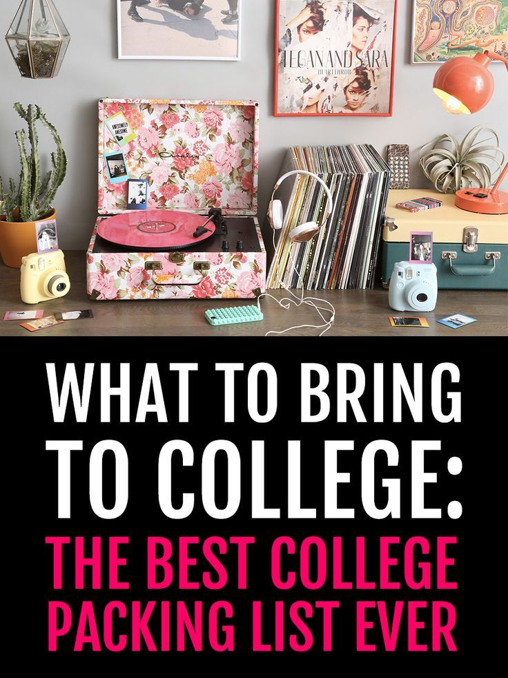 What To Bring College The Best Packing List EVER