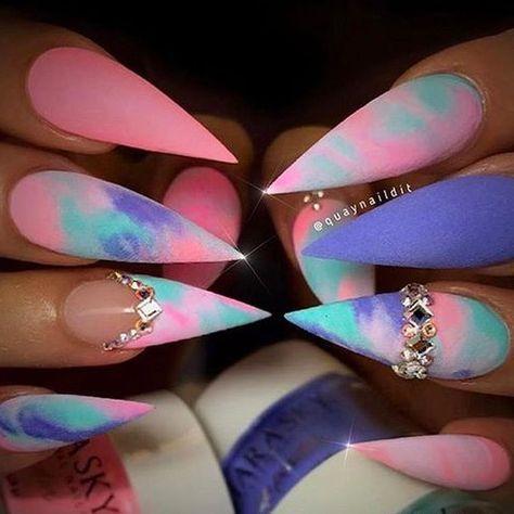 Best Stiletto Nails for 2018 - 89 Trending Stiletto Nail Designs - Best Nail Art