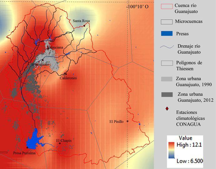 Martínez-Arredondo, J. C., Jofre Meléndez, R., Ortega Chávez, V. M., & Ramos Arroyo, Y. R. (2015). Descripción de la variabilidad climática normal (1951-2010) en la cuenca del río Guanajuato, centro de México [Figura 9]. Acta Universitaria, 25(6), 31-47. doi: 10.15174/au.2015.799