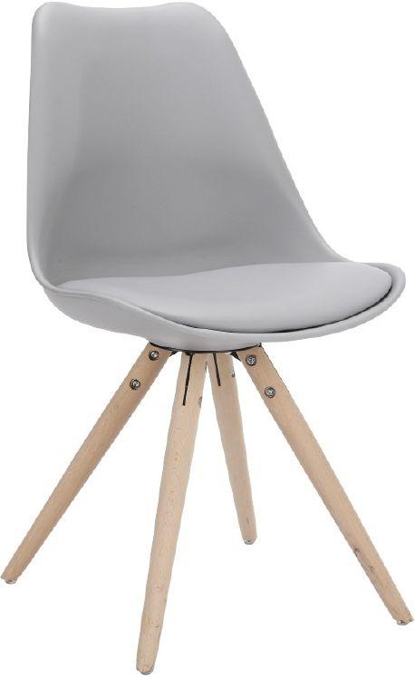 Woody Eetkamerstoel Grijs - Eetkamerstoelen - Eetkamer meubelen   Zen Lifestyle