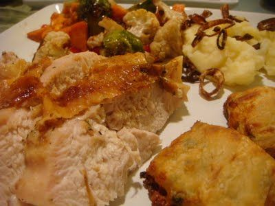 Delicious Dishings: Mini Thanksgiving Dinner For Two
