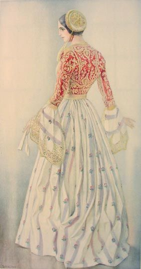 NICOLAS SPERLING #03 - Lady's Gala Dress of 1835