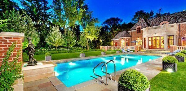 25 Beautiful Swimming Pool Garden Design Ideas With Images