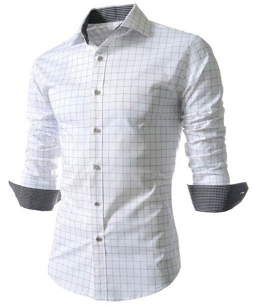 Stylish Men's Shirt with Long Sleeves