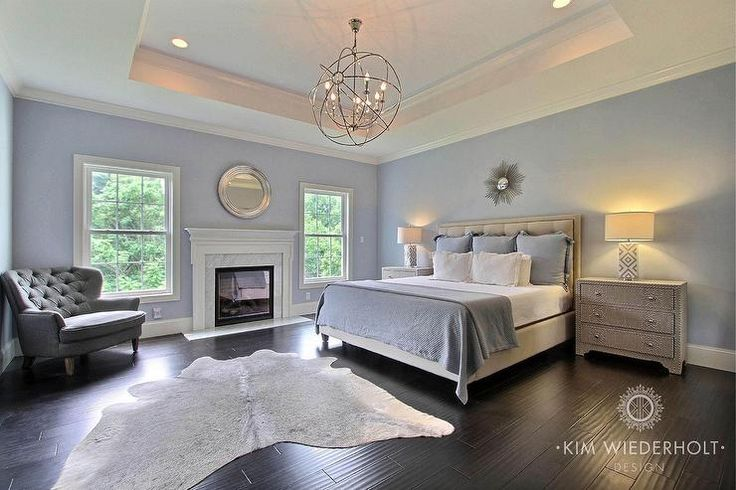 Beautiful Master Bedroom Design Featuring Box Vault