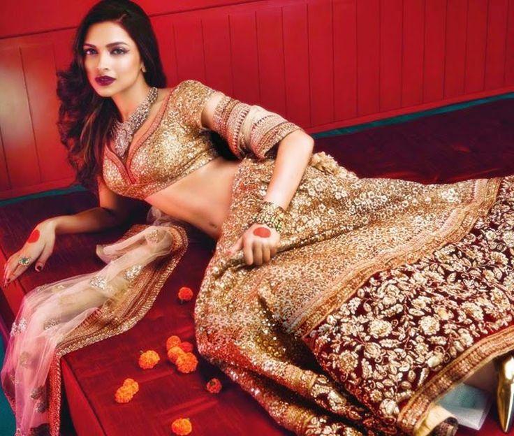 Depika Padukone Bollywood Diva Lehengas Collection 2015