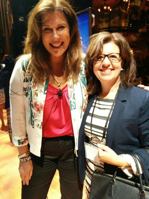 "Finally meeting the amazing Leanne Jakubowski O'Reagan at the Disney Social Media Moms Celebration ""On-The-Road"" New York City #DisneySMMC"