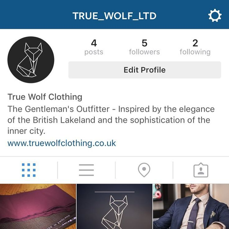 If you've got Instagram, and you haven't already, go check out the new True Wolf Instagram page. Hit follow for exclusive discounts and competitions that will only be run on Insta  #truewolf #menswear #discount #competitions