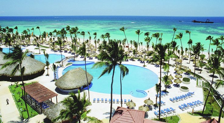 You can't beat the view of the sparkling turquoise water at the Grand Bahia Principe Bavaro!