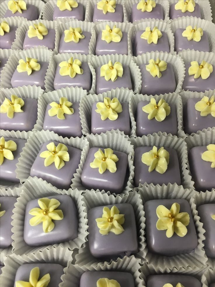 Abby's beautiful petit fours