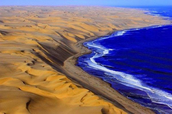Desierto Namib, Nabibia. Paisajes más impresionantes del planeta