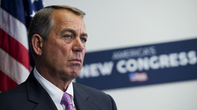 "Heritage Action celebrated the resignation of House Speaker John Boehner in a statement released Friday morning. The conservative lobbying group's chief executive, Michael A. Needham, wrote that Boehner ""has stood in the way"" of ""conservative policy solutions."""