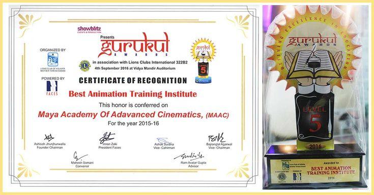 Gurukul Award 2015-2016