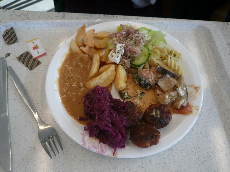 Great Student food at the university in Cologne less than for a course meal