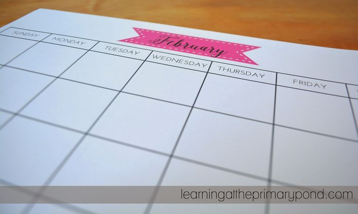 Homemade Calendar Template : My homemade planner printable calendars and planners