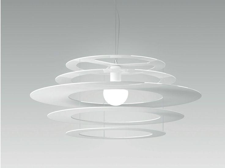 Lampada a sospensione a LED in metallo ORBITA by Olev by CLM Illuminazione design STEFANO TONELLOTTO, Marco Alessi, Simone Menegatti