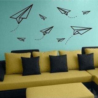 マスキングテープで壁にアートしよう♡ウォールアートアイディア  