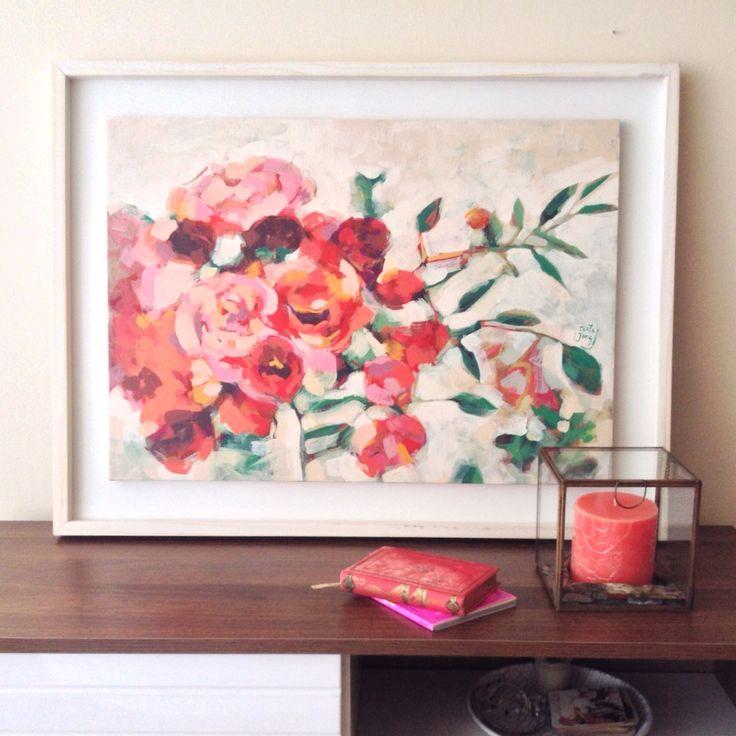 Acrílico sobre tela Serie Flores 2015 Carocostajung@gmail.com  Instagram.  @costajung