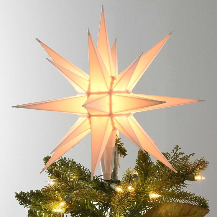 The 25+ best Star tree topper ideas on Pinterest   Tree toppers ...