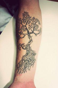 Bonsai tree tattoo on Pinterest | Tree Tattoos Bonsai Tree Tattoos ...