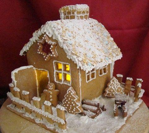 Mézeskalács ház, adventi koszorú :: Ami a konyhámból kikerül