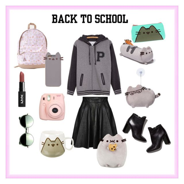 """#PVxPusheen"" by gracelovesanimals ❤ liked on Polyvore featuring Pusheen, Jeremy Scott, Pierre Hardy, Fujifilm, Revo, contestentry and PVxPusheen"
