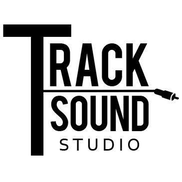 """Logotipo criado para o estúdio de música """"Track Sound Studio"""""""