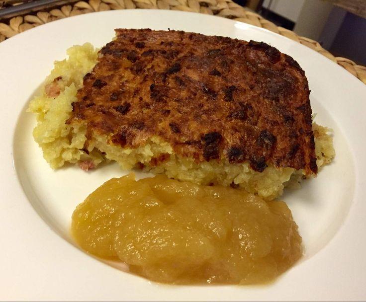 Rezept Döppekooche (Döppekuchen, Original Rheinischer Kartoffelskuchen) von Chris76 - Rezept der Kategorie sonstige Hauptgerichte