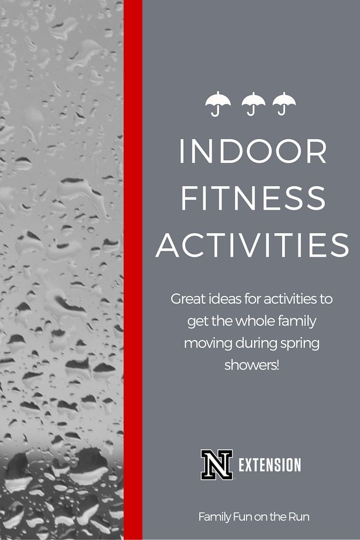 It's easy to keep kids moving when the weather is nice. How about when it rains?