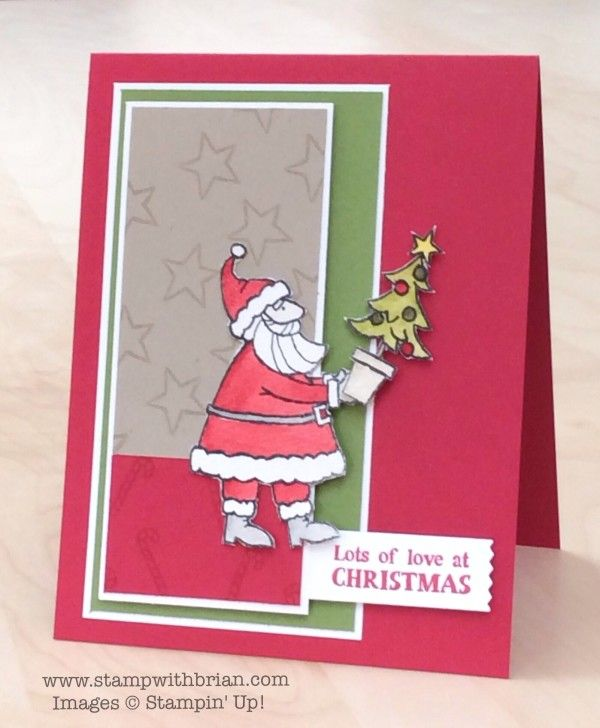 Santa's Gifts, Stampin' Up!, Brian King, FMS193