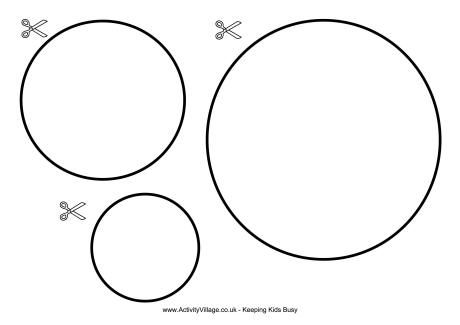 Circle Cut Out Template | Cool Templates @ www.template-kid.com