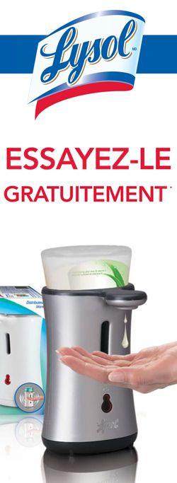 Remboursement de 17 $ pour Lysol No Touch. Fin le 15 septembre.  http://rienquedugratuit.ca/echantillon-gratuit/pour-lysol-no-touch/