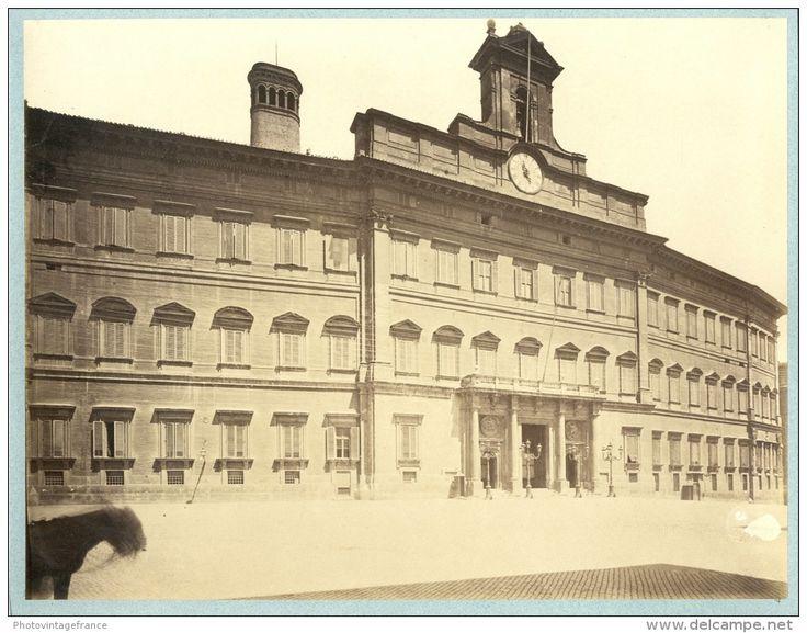 Italia, Roma, ca. 1875  Vintage albumen print. Italy.   Tirage albuminé   20x26   Circa 1875