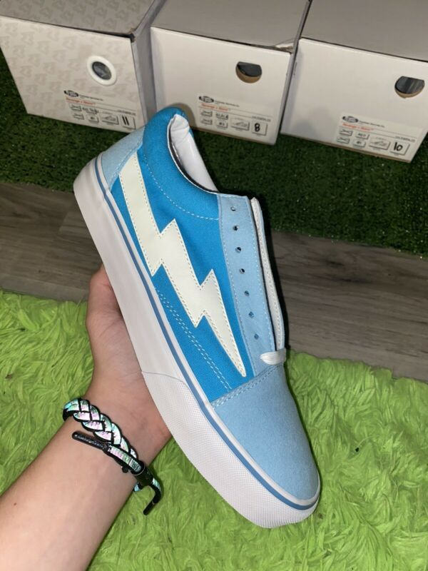 Revenge X Storm Bolt Blue Size 11 La Exclusive Release Brand New Athletic Shoes Ebay Link In 2020 Athletic Shoes Brand New Hummel Sneaker