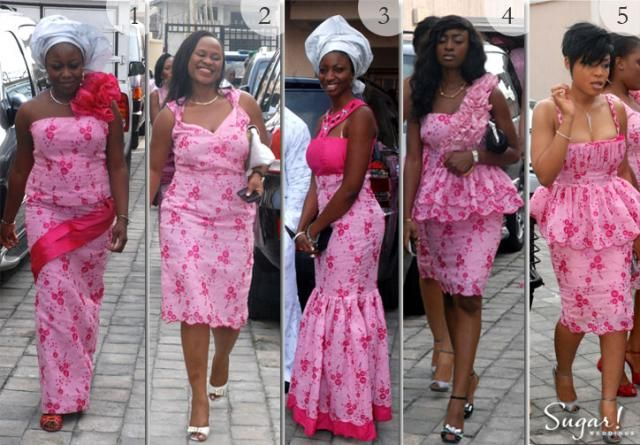 Nigeria Traditional Wedding Attire Trendy African Women Ankara Dress Designs 2013 Chic