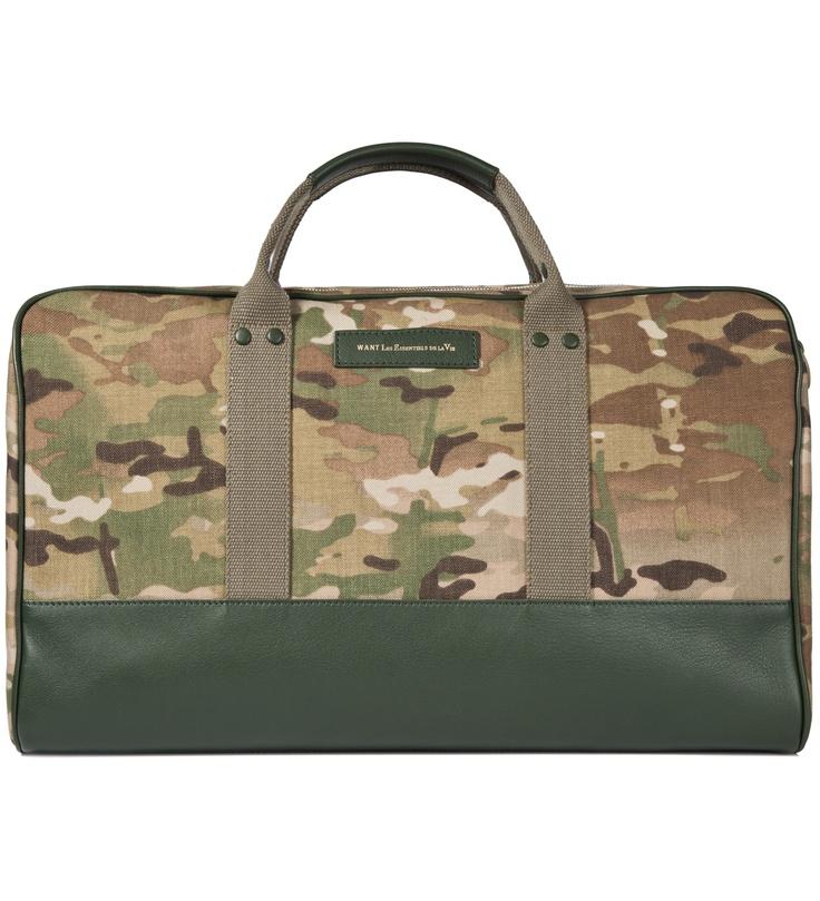 Nick Wooster x WANT Les Essentials de la Vie Dulles Sport Bag