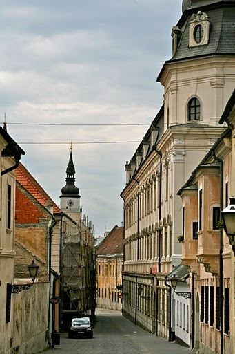 "Trnava, Slovakia. Trnava is in western Slovakia, 47 km to the north-east of Bratislava, on the Trnávka river. Because of the many churches within its city walls, Trnava has often been called ""parva Roma,"" (""Little Rome"") or more recently, the ""Slovak Rome."""