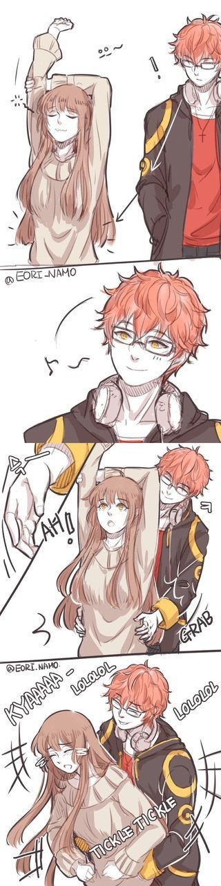 Tickle tickle (1/2) || Mystic Messenger ★