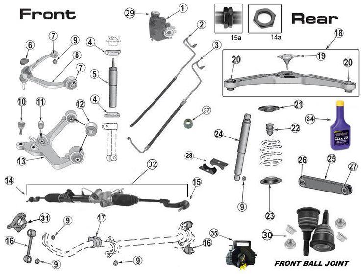 2002-2012 Jeep Liberty KJ |Jeep Suspension Parts|Morris 4x4 Center